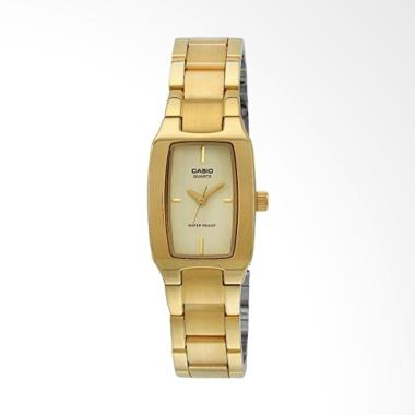 CASIO LTP-1165N-9CRDF Rectangle Sha ...  Jam Tangan Wanita - Gold