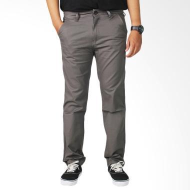CANY Chino Basic Celana Panjang Pria - Grey