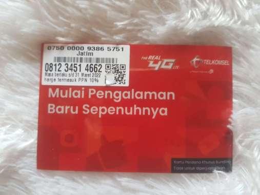 harga Kartu perdana nomor cantik simpati seri urut naik 12345 0812345 14 662 tsk Blibli.com
