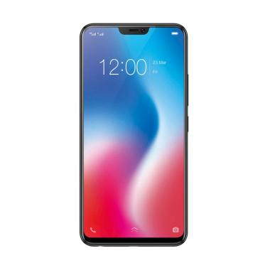 VIVO V9 Smartphone - Black [64GB/4G ... mi vivo indonesia 1 tahun