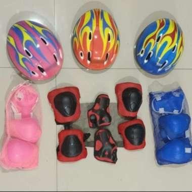 harga Helm Sepatu Roda Anak / helm sepeda anak - Merah Blibli.com