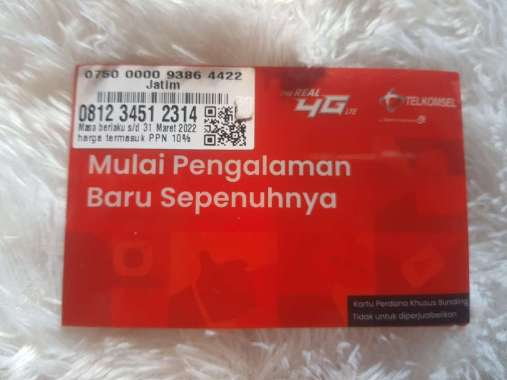 harga Kartu perdana nomor cantik simpati seri double urut naik 123 0812345 123 14 tsk Blibli.com