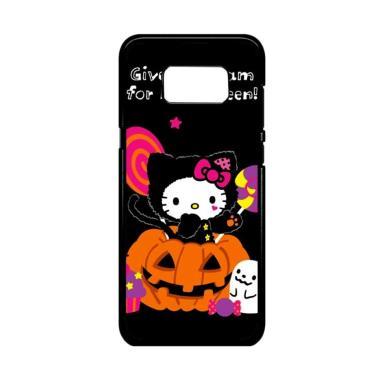 harga Bunnycase Halloween Hello Kitty Trick Or Treat 2 L1961 Custom Hardcase Casing for Samsung S8 Blibli.com