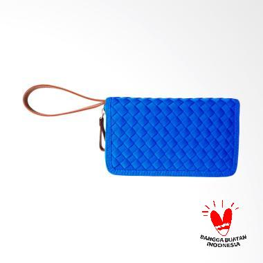 Webe Barbara Pocket 1 True Dompet Wanita - Blue