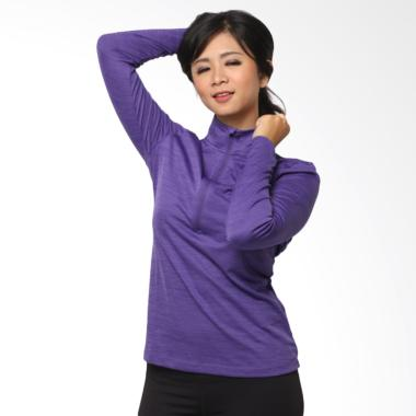 UNDER ARMOUR Sweat Long Sleeve Zipp ... ita - Purple [04UAT00010]