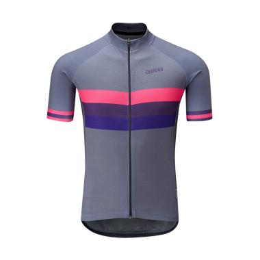 Chapeau Club Jersey Pakaian Sepeda - Carbon Grey