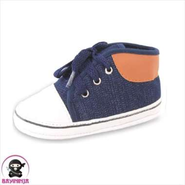 harga Dijual LUSTY BUNNY Sepatu Bayi Prewalker Sol Kain Anti Slip PS8313 - 120 mm DONGKER Berkualitas Blibli.com