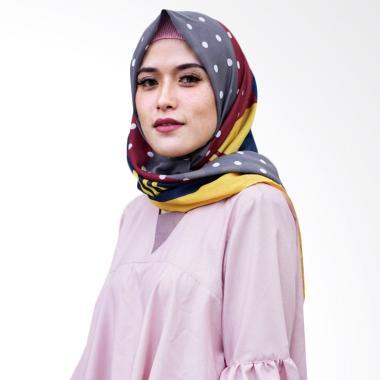 Miranti Scarf Jilbab Segiempat - Multicolor