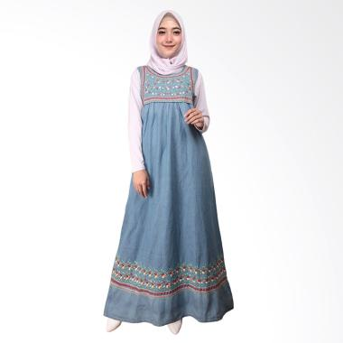 Adore Gamis Jeans TL 491673 Light Blue