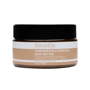 Sensatia Botanicals Lemongrass and Mandarin Body Butter [100 g]