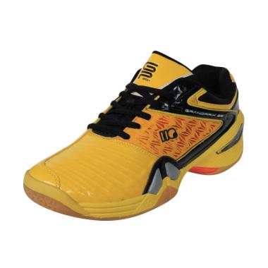 Hi-Qua Grand Prix Sepatu Badminton - Yellow