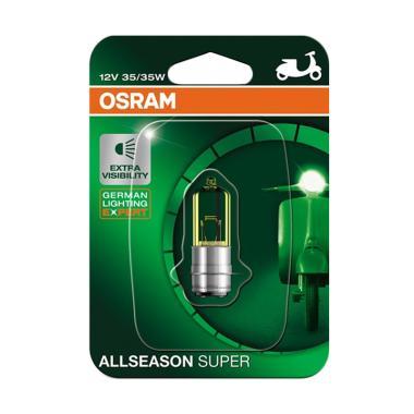 OSRAM 62337ALS All Season Super Bohlam Lampu Depan Motor for Yamaha Jupiter MX 135 2007-