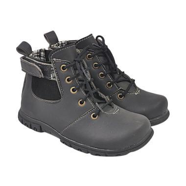 Recommended 343 Sepatu Boots Anak Laki-laki - Hitam