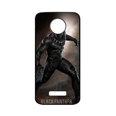 harga Bunnycase Black Panther Marvel L0594 Custom Hardcase Casing for Moto Z Force Blibli.com