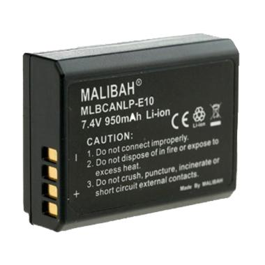 MALIBAH MLBCANLP-E10 Battery for Ka ... 00D/1200D/1100D jpckemang