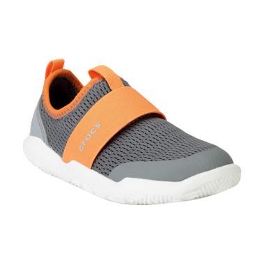 Crocs Swiftwear Easy On Sepatu Anak Laki-Laki [2040220K0]