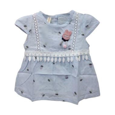 Import Kid 005 Dress Bayi Perempuan - Blue [M]