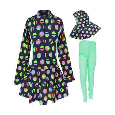 rainy-collections_baju-renang-anak-muslim-motif-polkadot-legging-hijau-muda_full02 Kumpulan Daftar Harga Busana Muslim Anak Perempuan Usia 3 Tahun Paling Baru tahun ini