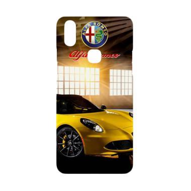 Cococase Yellow Alfa Romeo 4c spider W4931 Casing for Vivo V9