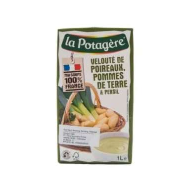 harga La potagere leeks potatoes prsly soup 1l Blibli.com