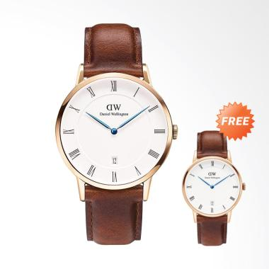 Daniel Wellington Dapper St Mawes J ... gan Wanita - Brown [34mm]