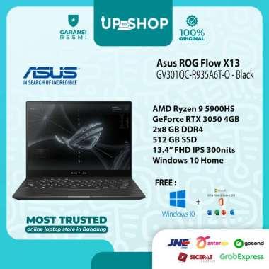 harga Asus ROG Flox X13 GV301QC-R935A6T-O - Gaming Laptop - [AMD Ryzen 9 5900HS / 16GB DDR4 / 512GB SSD / 13.4