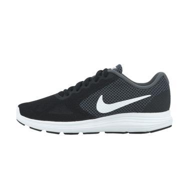 NIKE W Revolution 3 Running W Shoes ...  - Black Grey [819303001]