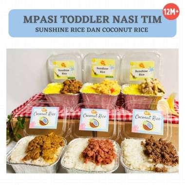harga Paket MPASI Nasi Tim Kuning / Nasi Tim Uduk (3 pax) / Frozen Food Nasi Kuning Blibli.com
