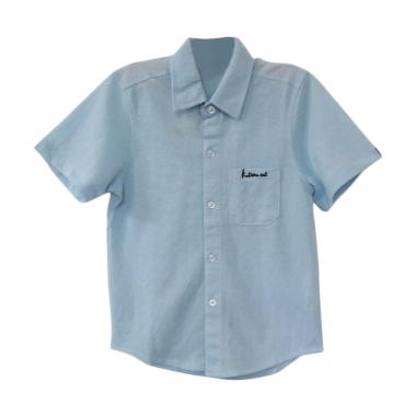 GBS Kadimi Cut Shirt Atasan Anak Laki-Laki - Light Blue
