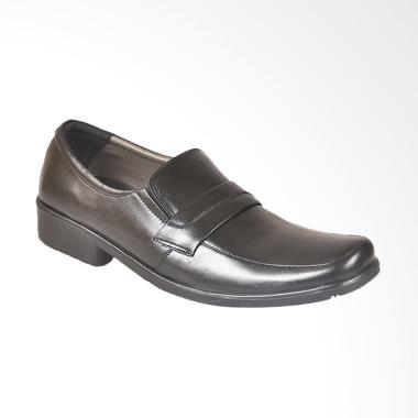 JAVA SEVEN Sepatu Formal Pria - Hitam [HJD 829]