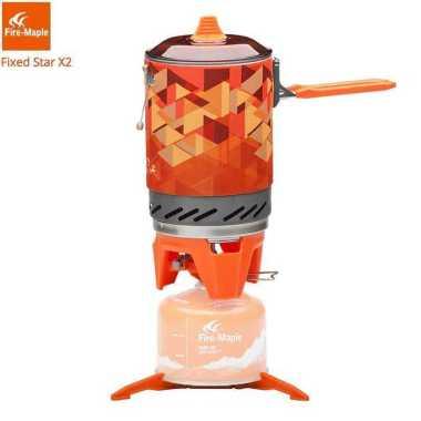 harga Fire Maple Outdoor Gas Stove Burner Tourist Portable Cooking - FMS-X2 Oren Blibli.com