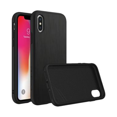 harga RhinoShield SolidSuit Casing for iPhone X - Brushed Steel Blibli.com