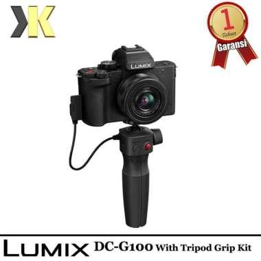 harga Panasonic Lumix DC-G100 Mirrorless Digital Camera with 12-32mm and Tripod Grip Kit Garansi Resmi Blibli.com