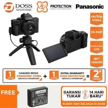 harga DOSS Panasonic Lumix G100 kit 12-32mm DC G100 + Tripod Grip / Lumix G100 Blibli.com