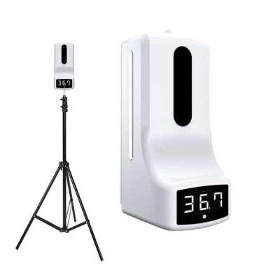 harga K9 Infrared Thermometer automatic Non contact + sensor tangan + TRIPOD - K9 WITH Putih Blibli.com