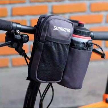 harga Tas sepeda lipat stang depan botol ABU-ABU Blibli.com