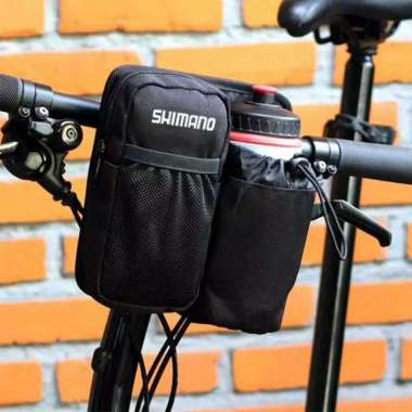 harga Tas sepeda lipat stang depan botol HITAM Blibli.com