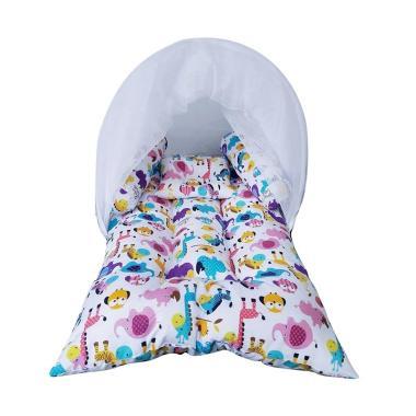 Elhababy KBLK 017 Lipat Kelambu Baby Animals Set Tempat Tidur Bayi