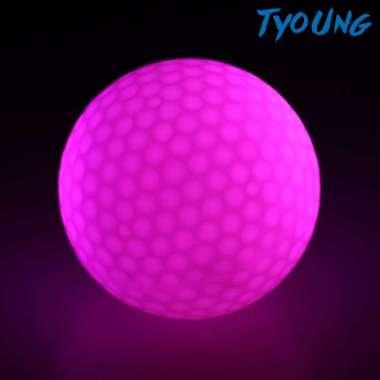 harga FREE ONGKIR Bola Golf Dengan Lampu Led Warna-Warni Glow In The Dark Blibli.com