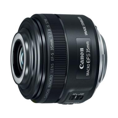 Canon Lens EFS 35mmf/2.8 Macro IS STM Lensa Kamera