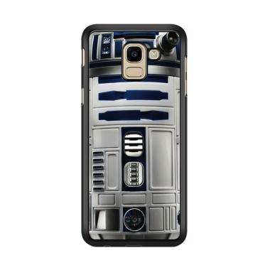 Flazzstore Blue R2D2 Star Wars E121 ... or Samsung Galaxy J6 2018