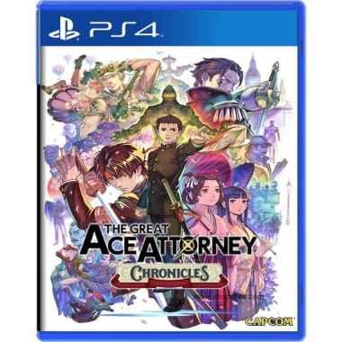 harga PS4 The Great Ace Attorney Chronicles Region 3 Blibli.com