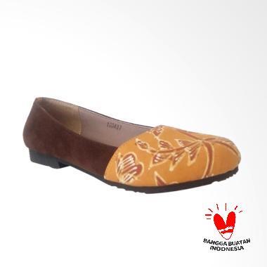 d.a.t Ivanka Lasem Sepatu Wanita - Orange Brown 5dbd88a3af