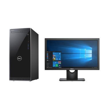 harga Dell Inspiron 3670 MT Desktop PC [Ci3-8100/ 4GB/ 1 TB/ Intel HD/ Windows 10] + Dell Monitor E1916HV Blibli.com