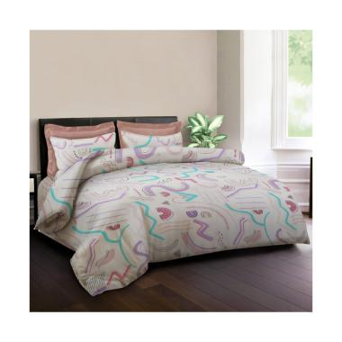 King Rabbit Motif Watermelon Set Sprei