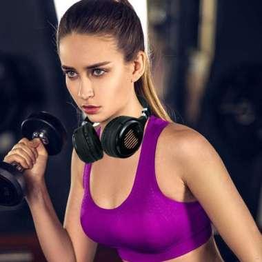 harga Bluetooth 5.0 Headphone Hi-fi Stereo Sound Wireless Folding Headset Blibli.com