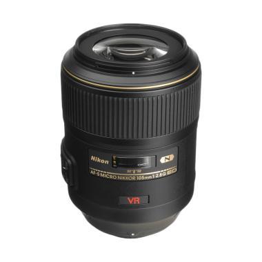 Nikon AFS 105mm f/2.8 Macro G ED IF VR Nano Lensa Kamera