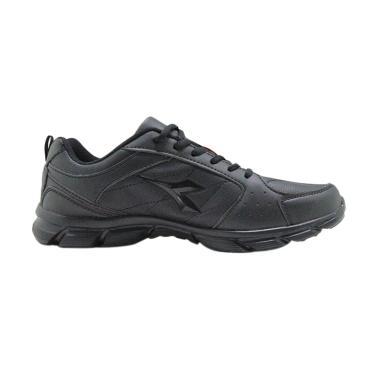 Diadora Force Sepatu Running Pria - Black