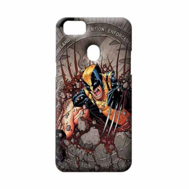 OEM X Men Wolverine Comic Collage A ... rdcase Casing for OPPO F7