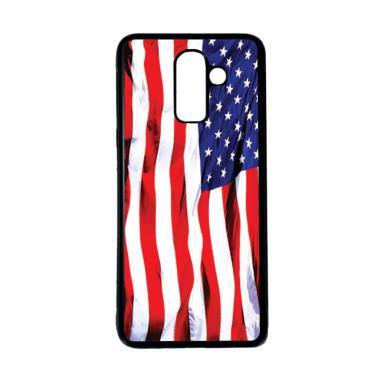 harga HEAVENCASE Bendera Amerika 06 Softcase Casing for Samsung Galaxy J8 - Hitam Blibli.com